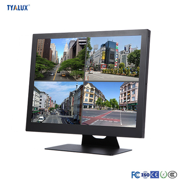 Metal case 32 inch full HD Ultra slim & light design,easy to handle CCTV monitor