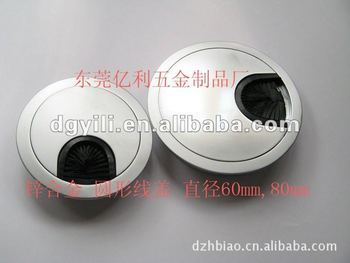 Cable Grommet for desk/high quality cable grommet with brush