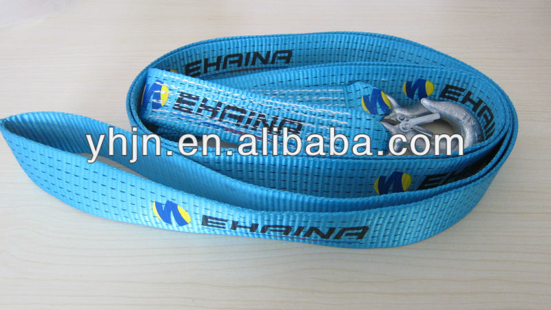 2013 hot sale Elastic tow straps used to pull the car from drop anchor site
