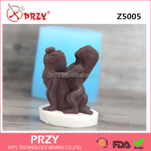 PRZY Hot Vintage Sex DIY Craft Silicone Mold for Valentine's Day Art Classic Sensual Candle Mould