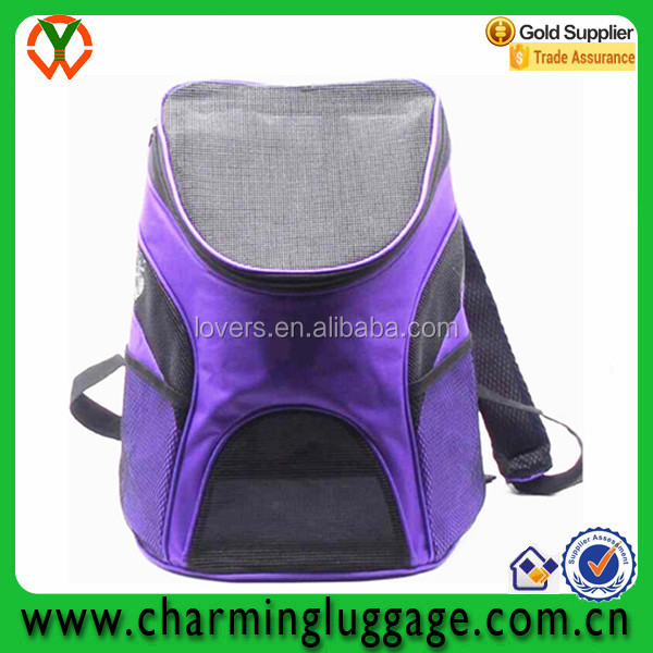 new fashion waterproof carrier dog backpack/dog travel bag