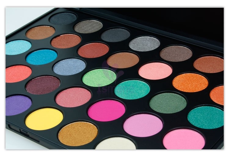 china guangdong wholesale morphe Colorful glitter makeup 35 eyeshadow palette