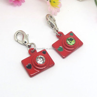Fashion jewelry rhinestone hidden pendant fancy camera pendant