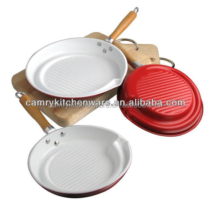 non-stick carbon steel grill fry pan