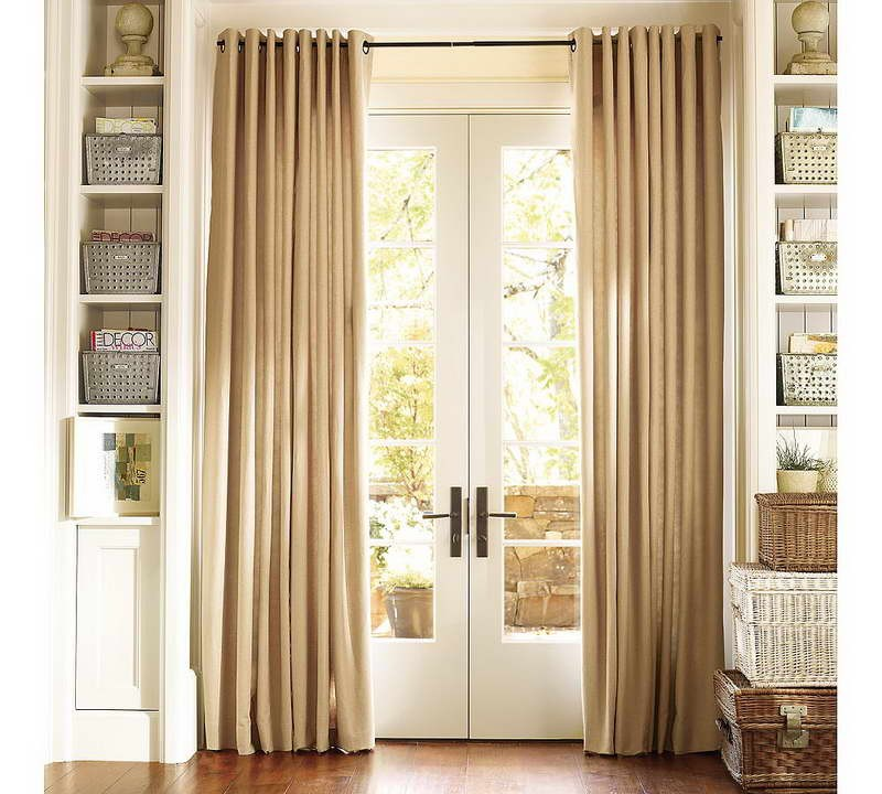 Elegant Fire Resistant Curtains for Glass Doors