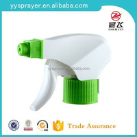 green and blue foam trigger sprayer for daily clean