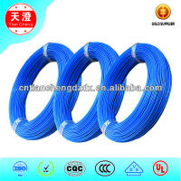 Blue color UL1887 150C 600V FEP teflon Insulated Wire
