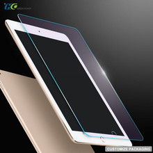 High quality 2.5D 0.33mm screen glass protector for IPAD mini 4/3/2,custom tempered glass packaging cheap
