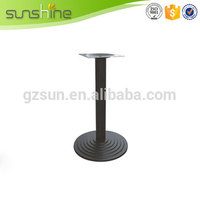 Guangzhou manufacture excellent quality wrought iron dressing table leg