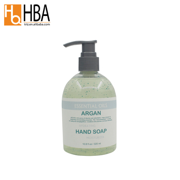 Suppliers private label natural scent argan soap liquid hand wash