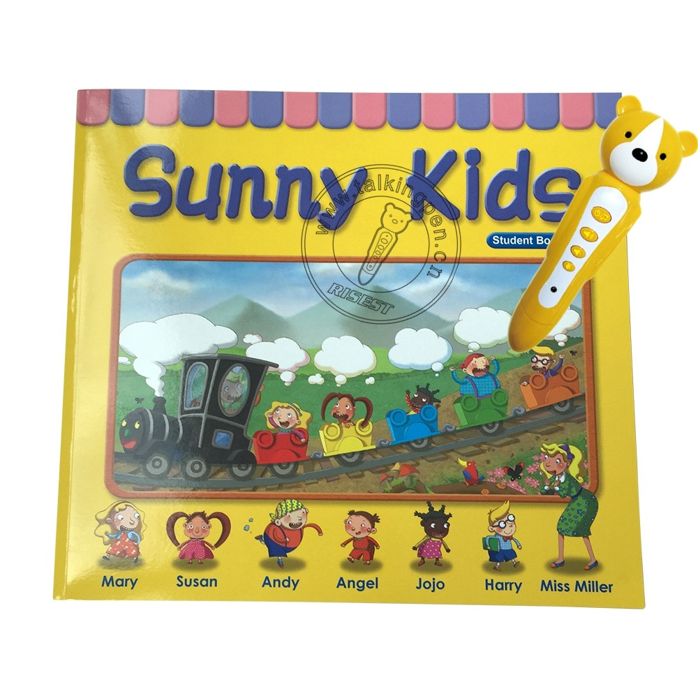 Juguetes Educativos English Reading Pen and Audio English Book Sunny Kids for Kids Interactive Learning with Enchanting Speech