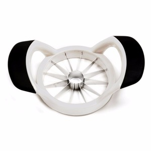 Ultra Sharp Stainless Steel 12 Blade Apple Slicer Corer Cutter With Ergonomic Grip Handle