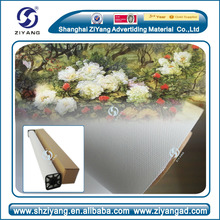 100% polyester /cotton/poly cotton eco solvent blank canvas for painting