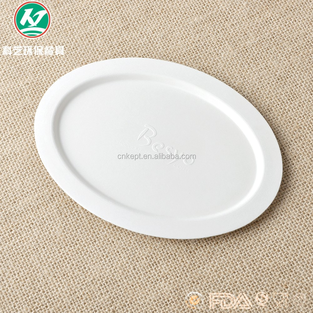 Biodegradable sugarcane bagasse japanese paper plates disposable