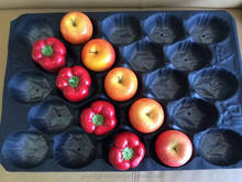 Made In China FDA Approved OEM Accept Plastic Fruit And Veggie Tray