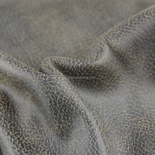 100 polyester cut resistant bronzing patterned suede fabric