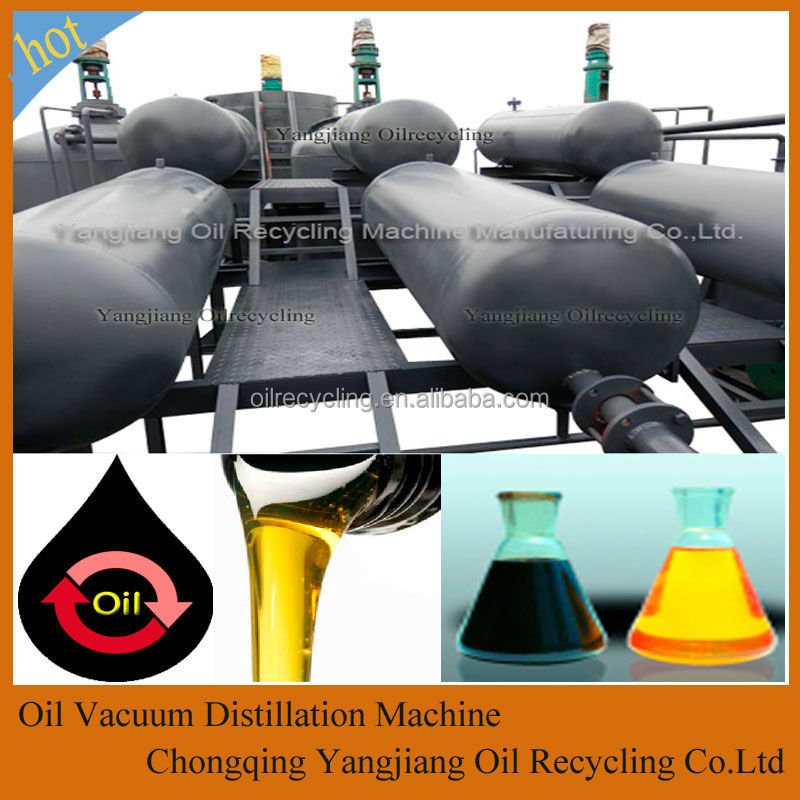 Continous High Oil Output Waste Oil To Dieseil Oil Disposal