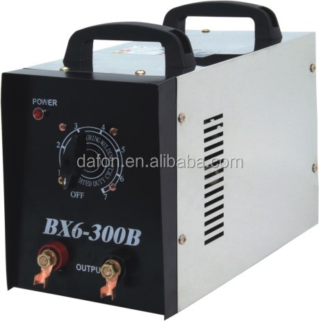 HYY-wholesale BX6-300B series copper/aluminum transformerAC ARC welding machine