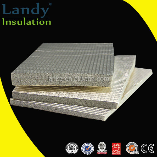 Heat Resistant Freezer Foam Insulation aluminium foil