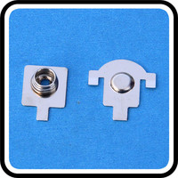 tin plating spring steel aa battery contact battery clip