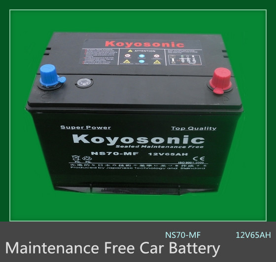 China Car battery Manufacture N120 Good quality 12v MF car battery