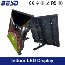 Indoor SMDP3.91/P4.81& Outdoor P5.95/P6.25/P8 Perimeter full color LED screen Display for world cup/football game /NBA stadium