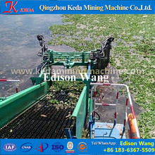 Aquatic Weed Harvester Dredger Collecting Floating
