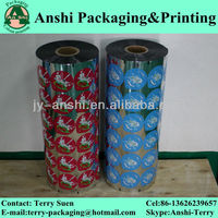 Aluminum foil heat sealing film for yogurt cup