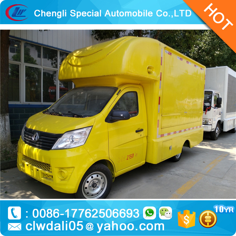 Changan mini food trucks for sale