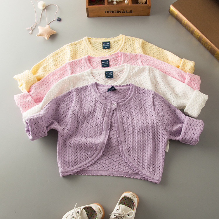 HT-BGSSQ new model high quality hot sale baby hand made sweaters cardigan for baby clothes,hand knit kids cardigans