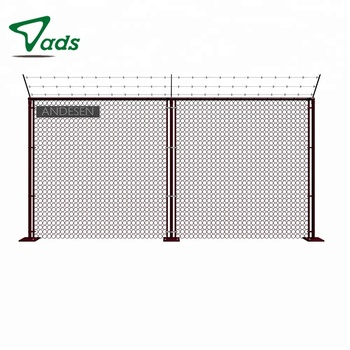 Double leaf used small hole used chain link fence panels