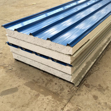 fast build heatproof and thermal Insulation 950 type Polyurethane Sandwich Panels for residence with Price concessions
