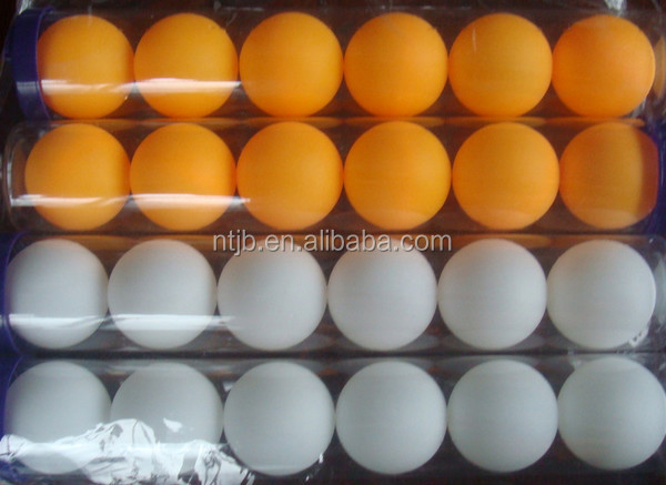 Hot Sale Standard Plastic Professional Training Table Tennis Ball Custom Logo Ping Pong Ball