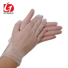 Disposable powder free durable vinyl gloves with CE,ISO,FDA approved