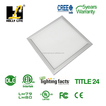 2016 72w DLC listed 5000K led panel light 1200x600,USA warehouse available !