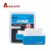 Blue Super OBD2 Chip Tuning Box for Diesel Lower Fuel and Lower Emission Eco OBD2