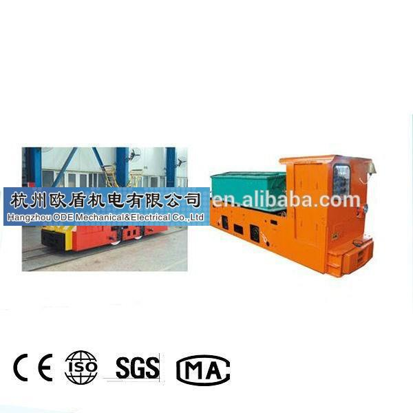 Professional Manufacturer of Battery Locomotive for mining