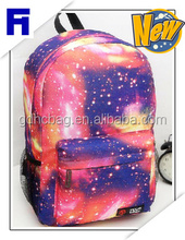 2016 newest fashion star pattern large capacity backpack