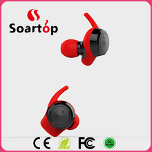 mini sport stereo wireless bluetooth headset earphone with 6mm mic