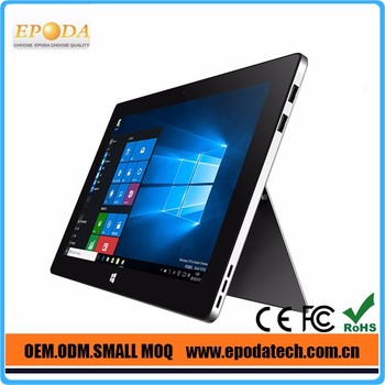 11.6 inch Intel Cherry Trail Z8300 Windows 10 Tablet PC with kickstand and Keyboard