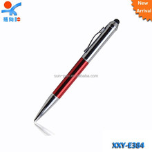 half silver plate promotion advertising stylus ball pen
