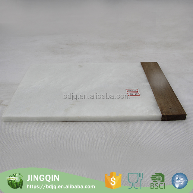2016 very popular small marble wooden cutting cheese board