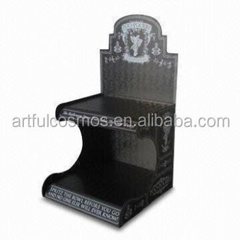 Wood Beer Bottle Glorifier Display Stand Acrylic Perspex E Cigarette Cig Counter Top Display Stand