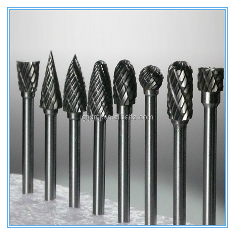 10pcs/set Diamond Burrs Carbide Rotary File