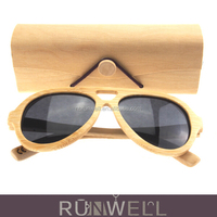 2016 new creative cheap nature wooden sunglasses packaging boxes