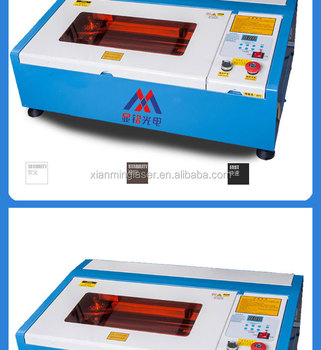 40 W CO2 mini rubber stempel laser graveur machine