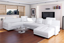 popular design genuine leather sofa