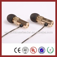 Chinese phones spares stereo comfortable earphones/earbuds/earpieces with remote and mic