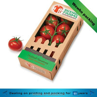 hot sale custom made tomato packing box Hollow box