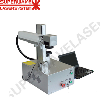 Portable Memory Card Fiber Laser Marking Machine for Metal and Non-metal